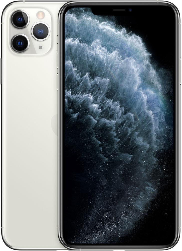 Смартфон Apple iPhone 11 Pro Max 512Gb Серебристый фото