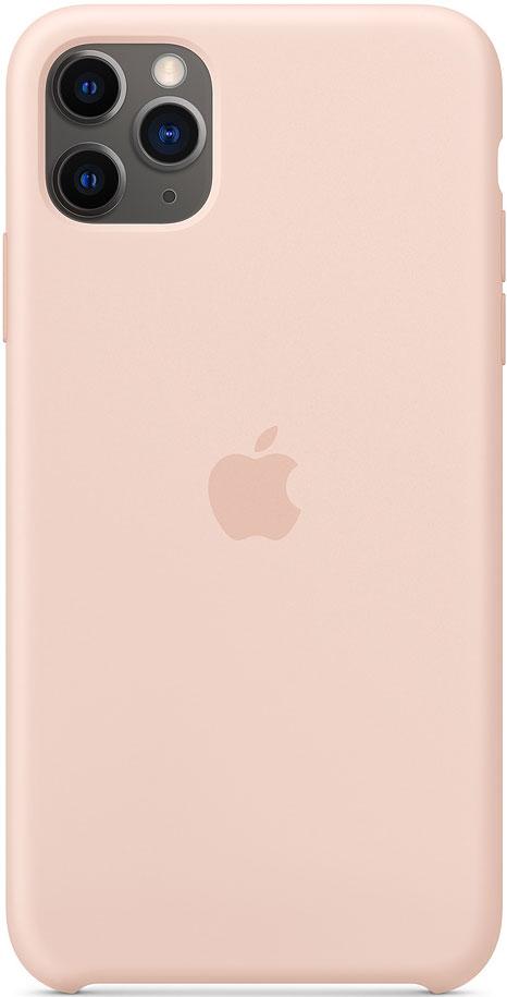 Клип-кейс Apple iPhone 11 Pro Max MWYY2ZM/A силиконовый Розовый песок фото