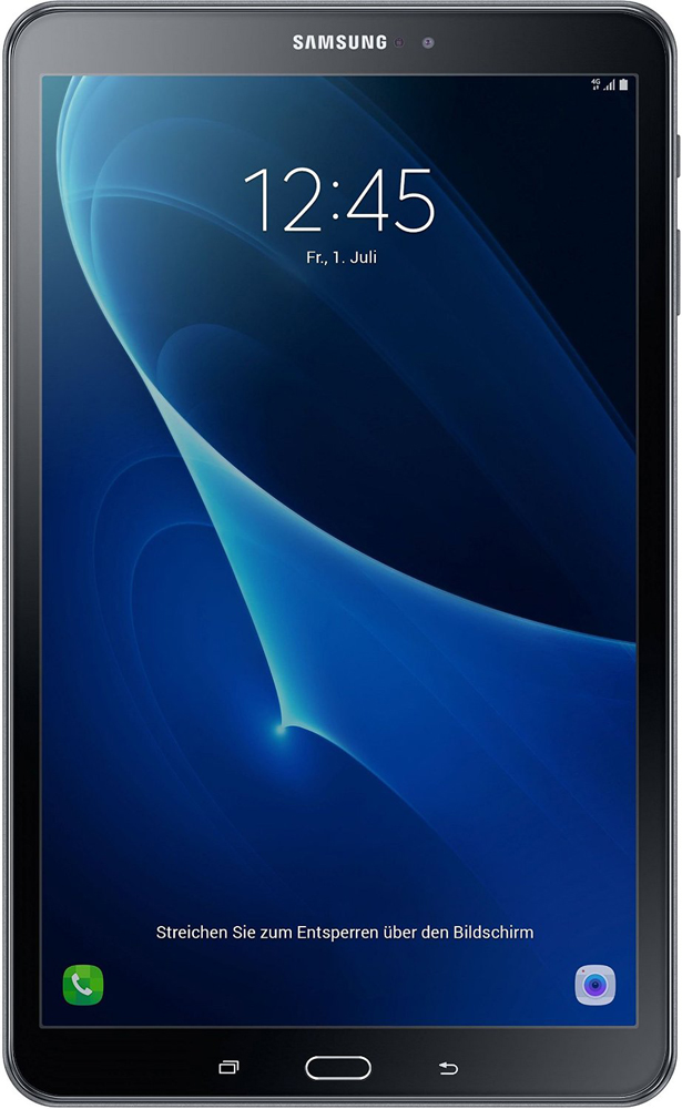 Планшет Samsung Galaxy Tab A 10.1 SM-T585N 16Gb LTE Black смартфон samsung galaxy a5 2016 4g 16gb black