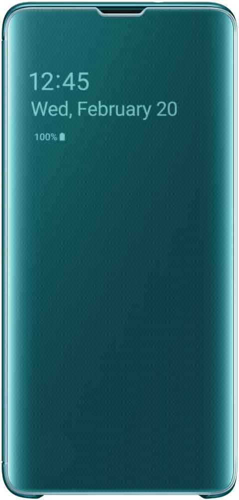 Чехол-книжка Samsung Galaxy S10 EF-ZG973C Green