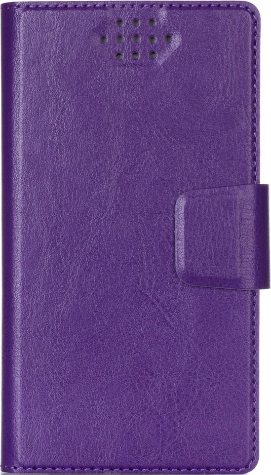 Чехол-книжка Vili универсальный размер M 4,3-5,5 Purple