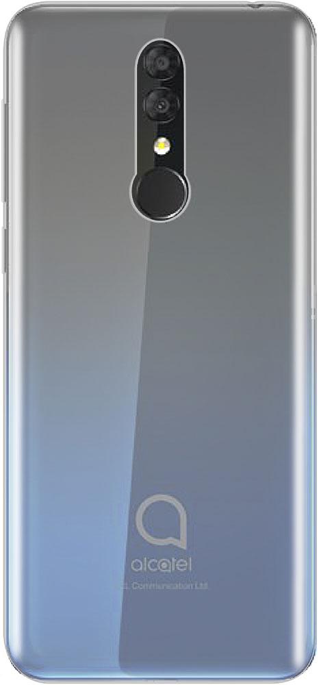 Клип-кейс LuxCase Alcatel 3 прозрачный клип кейс alcatel color skin для 9005x pixi 3 желтый
