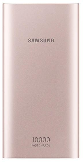 Внешний аккумулятор Samsung EB-P1100BPRGRU 10000 mAh micro USB pink внешний аккумулятор samsung 10000 mah eb p3000c темно синий