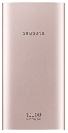 Внешний аккумулятор Samsung EB-P1100BPRGRU 10000 mAh micro USB pink аккумулятор samsung microusb 11300 mah white sam eb pn915bwrgru