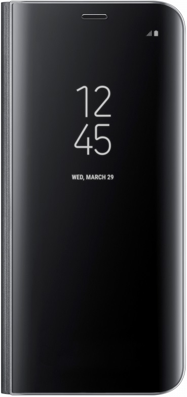 Чехол-книжка Samsung Clear View Standing Cover для Samsung Galaxy S8+ Black (EF-ZG955CBEGRU) цена