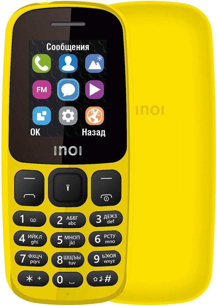 Мобильный телефон INOI 101 Dual sim Yellow