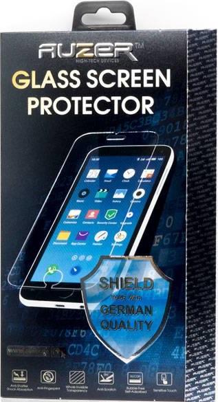 Стекло защитное Auzer Honor 8A Full Screen Full Glue черная рамка фото