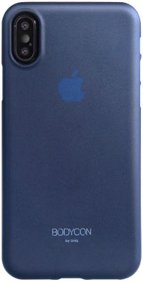 Клип-кейс Uniq Apple iPhone X тонкий пластик Blue