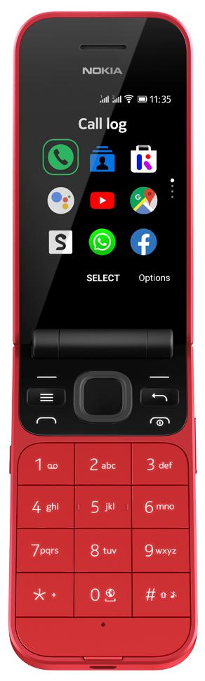 Мобильный телефон Nokia 2720 Dual sim Red