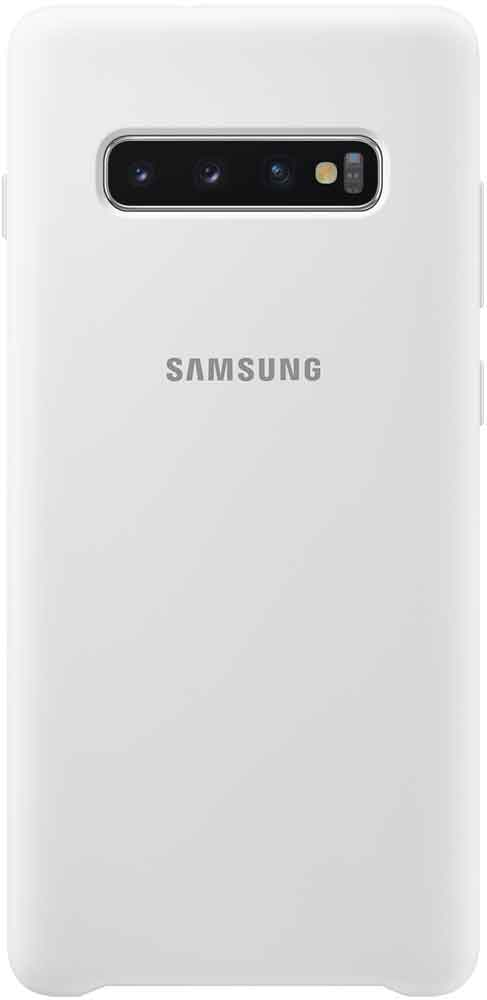 Клип-кейс Samsung Galaxy S10 Plus TPU EF-PG975TWEGRU White клип кейс uniq samsung galaxy s10 plus white