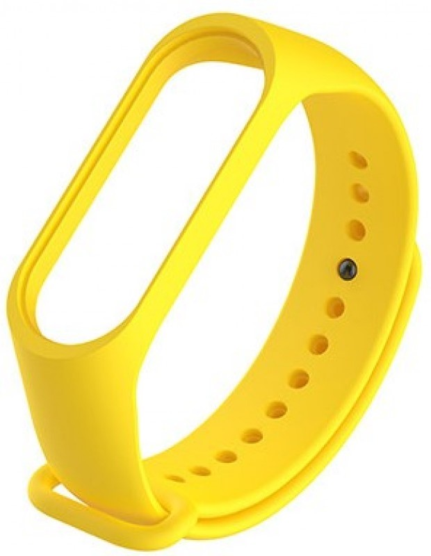 Ремешок для фитнес трекера Xiaomi для Mi Band 3 силиконовый Yellow силиконовый ремешок для фитнес трекера xiaomi mi band 3 yellow