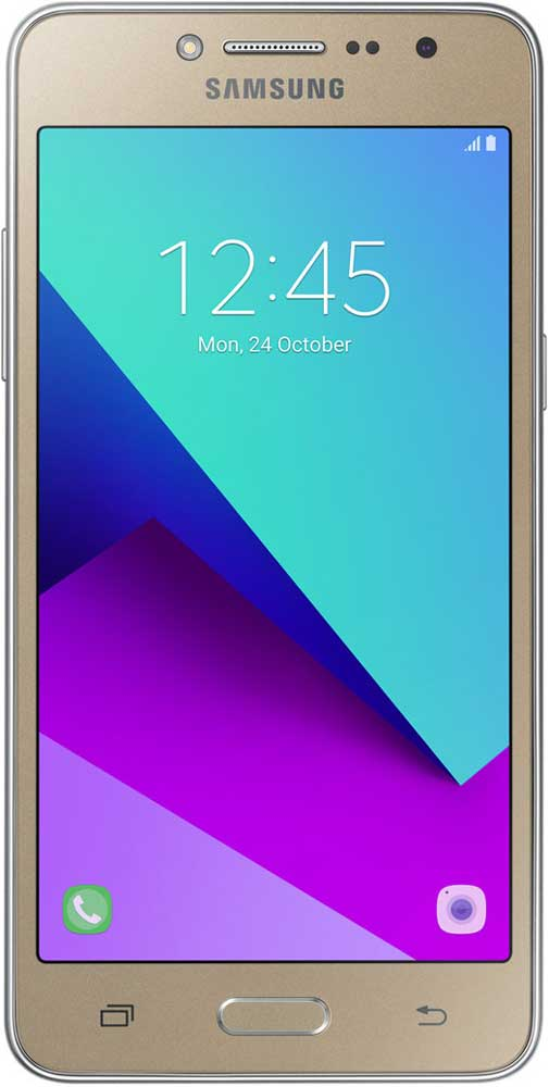 Смартфон Samsung G532 Galaxy J2 Prime (2018 Edition) 8Gb Gold чехол df sslim 30 для samsung galaxy j2 prime grand prime 2016