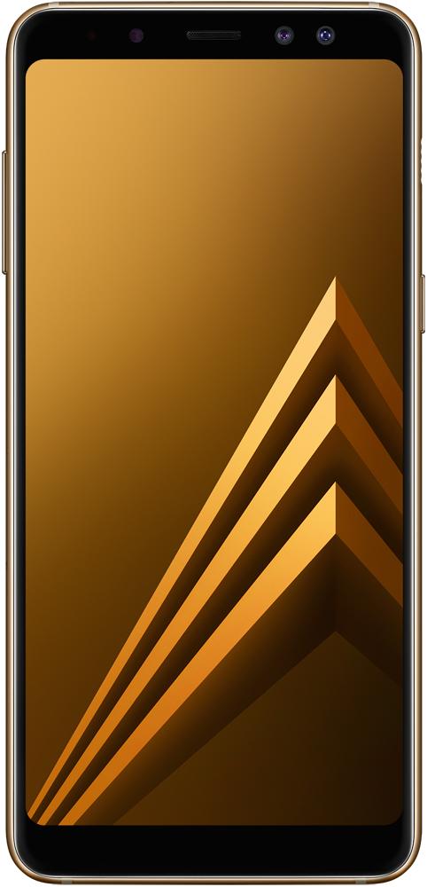 Смартфон Samsung A730 Galaxy A8 Plus (2018 Edition) Gold SM-A730FZDDSER