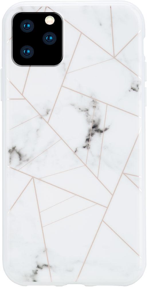 Клип-кейс Habitu iPhone 11 Pro пластик мрамор White фото