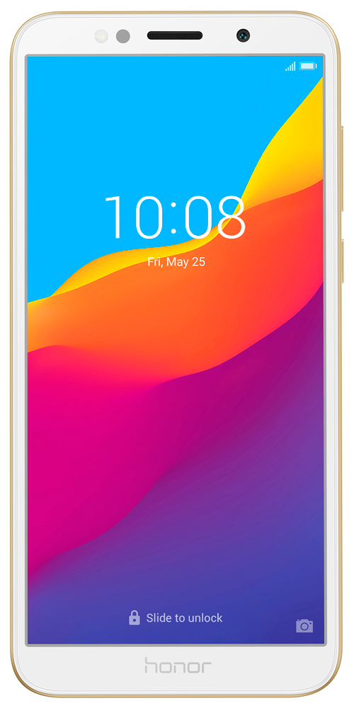 Смартфон Honor 7S 1/16Gb Gold фото