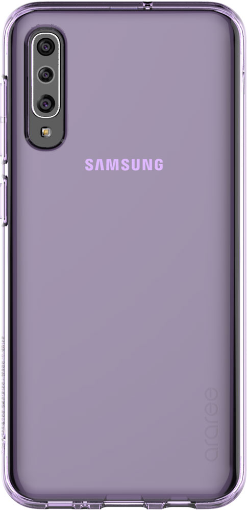 Клип-кейс Araree Samsung Galaxy A50 TPU GP-FPA505K Purple клип кейс araree samsung galaxy a10 gp fpa105k purple