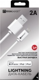 фото Дата-Кабель MediaGadget NL-002M USB-Lightning Apple MFI 1м White