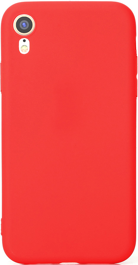 Клип-кейс Vili Apple iPhone XR TPU Red клип кейс guess silicone для apple iphone xr черный