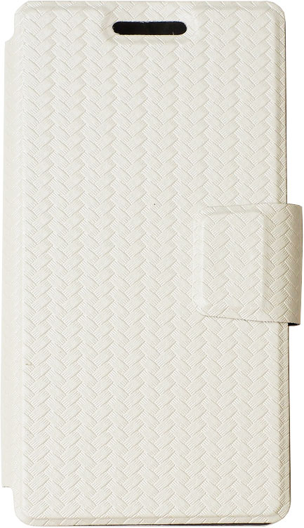 цена на Чехол-книжка OxyFashion SlideUP универсальный размер S 3,5-4,3 бамбук White