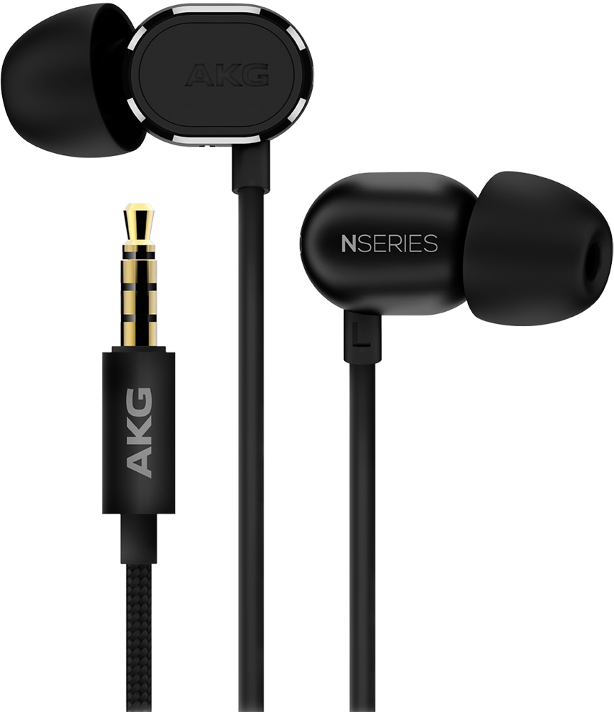 купить Наушники с микрофоном AKG N20U Black онлайн