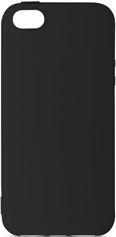 Клип-кейс DF Apple iPhone 5/SE TPU Black клип кейс gresso smart для apple iphone xr красный