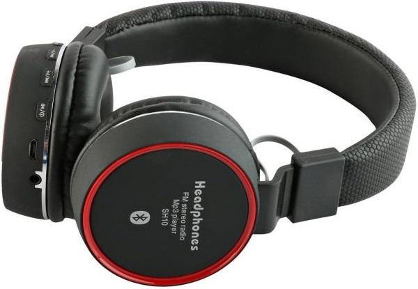 Беспроводные наушники с микрофоном Lemon Tree LT10 Bluetooth Black