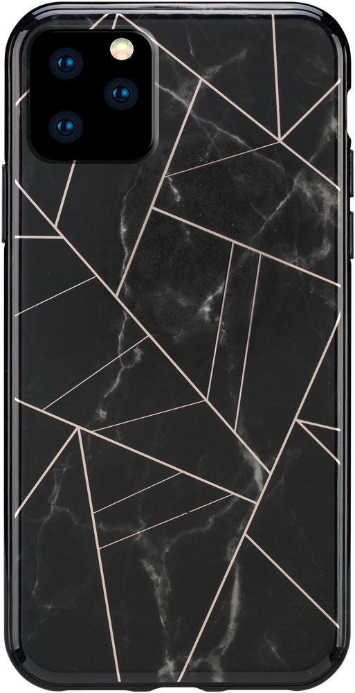 Клип-кейс Habitu iPhone 11 Pro пластик мрамор Black фото