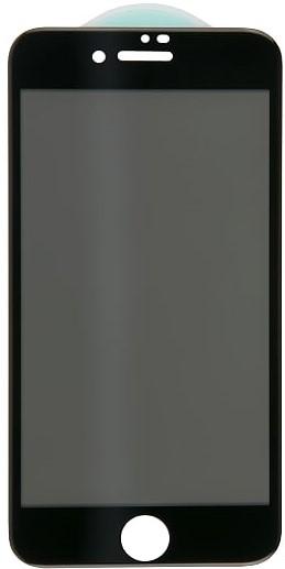 Стекло защитное RedLine для iPhone 8/7 Plus 3D AntiSpy черная рамка цена и фото