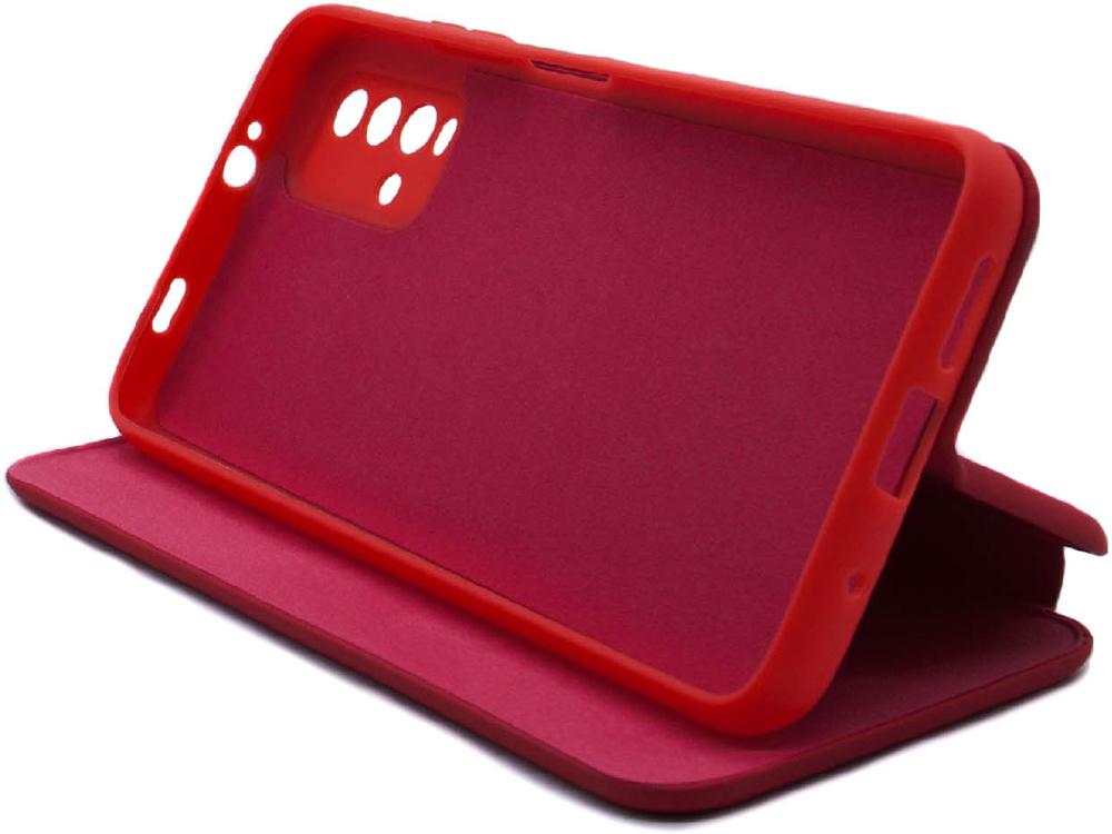 Чехол-книжка Borasco Xiaomi Redmi 9T ShellCase Red фото 4