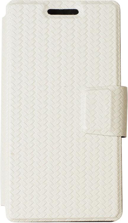 Чехол-книжка OxyFashion SlideUP универсальный размер M 4,3-5,5 бамбук White moonlightssecret white m