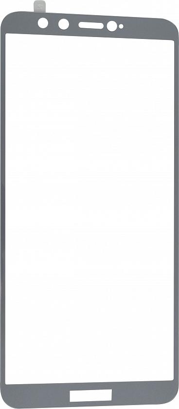 Стекло защитное RedLine Corning для Honor 9 Lite 0.2 мм серая рамка цена и фото