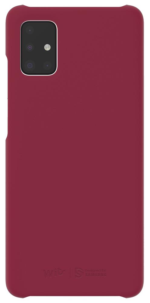 Клип-кейс WITS Samsung Galaxy A51 Wine (GP-FPA515WSAXR) фото