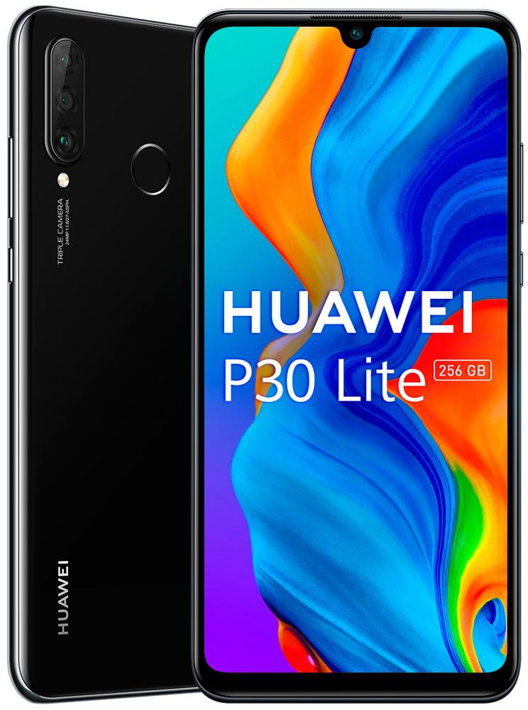 Смартфон Huawei P30 Lite 6/256Gb Black фото