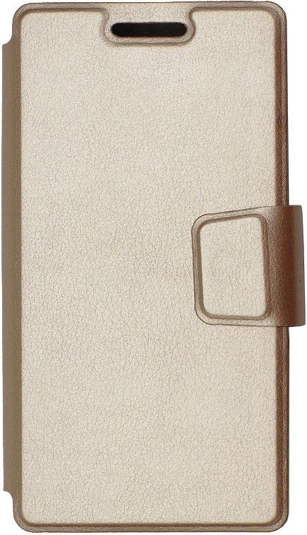 цена на Чехол-книжка OxyFashion SlideUP универсальный размер S 3,5-4,3 Gold