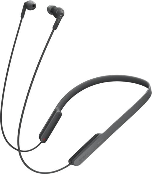 Беспроводные наушники с микрофоном Sony MDR-XB70BTB Black аксессуар чехол для samsung galaxy tab a 10 5 sm t590 sm t595 g case slim premium black gg 982