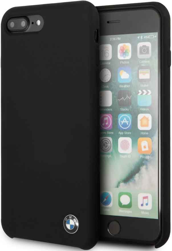 цена Клип-кейс BMW iPhone 7/8 Plus силикон Black