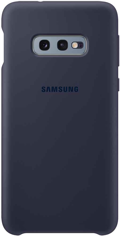 Клип-кейс Samsung Galaxy S10e TPU EF-PG970T Navy клип кейс samsung galaxy s10e ef vg970l кожа black