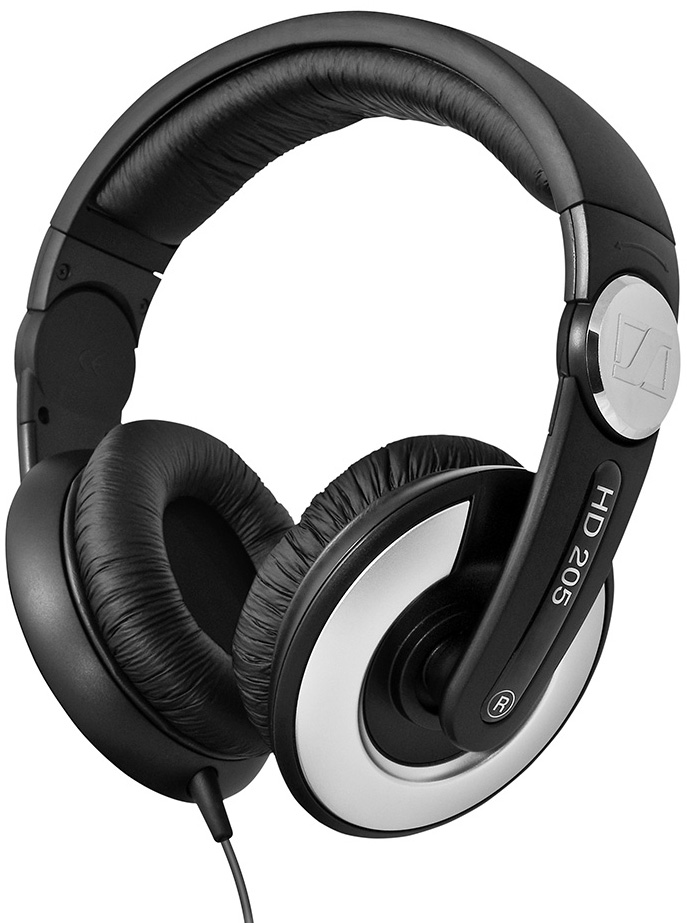 цена Наушники Sennheiser HD 205 II Black