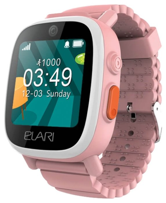 Детские часы Elari FixiTime3 pink smart watch elari fixitime 3
