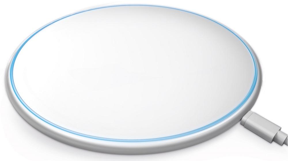 Фото - Беспроводное зарядное устройство Akai CH-6W02 10W White беспроводное зарядное устройство rivacase va4914 wd1 белое 10w сзу