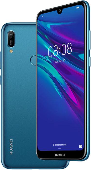 Смартфон Huawei Y6 2019 2/32Gb Blue фото
