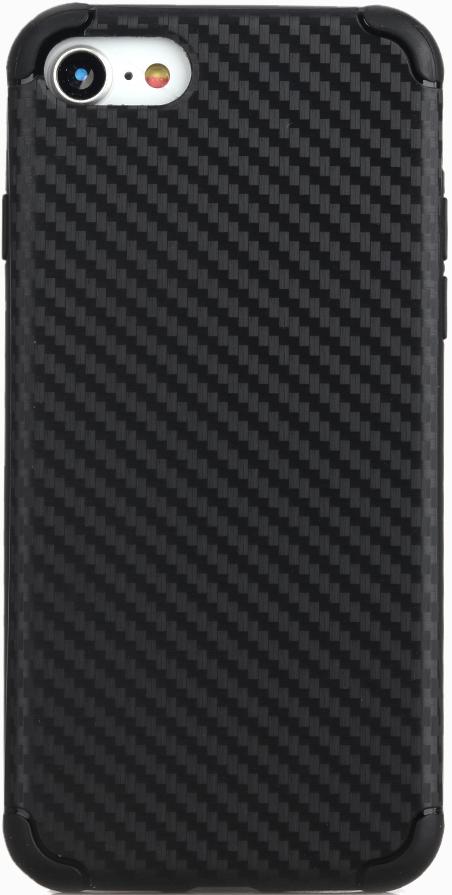 Клип-кейс Vili iPhone 8 карбон Black чехол книжка vili neo iphone 8 black