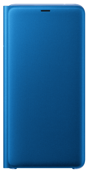 Чехол-книжка Samsung Galaxy A9 2018 Wallet Cover blue (EF-WA920PLEGRU) стоимость