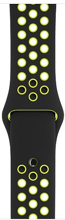 Фото - Ремешок для умных часов Apple Watch Nike 42mm силиконовый black-lime (MQ2Q2ZM/A) tawanya tuck claudia tuck trayvon williams tuck a part of me