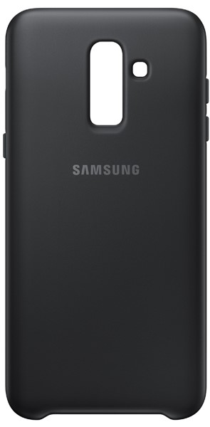 Клип-кейс Samsung для Galaxy J8 2018 Dual Layer cover EF-PJ810CBEGRU black клип кейс samsung samsung galaxy j6 dual layer cover black ef pj600cbegru