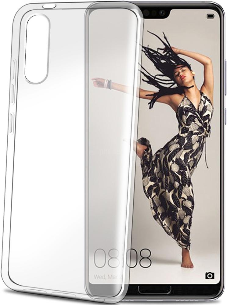 Клип-кейс Celly Gelskin Huawei P20 Pro прозрачный смартфон huawei p20 pro blue