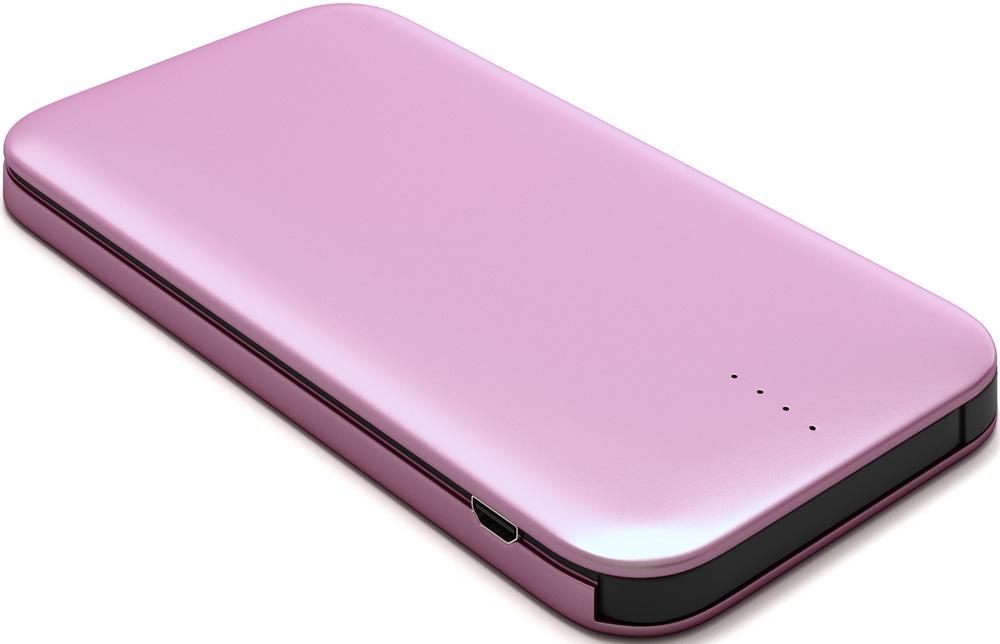 Внешний аккумулятор RedLine B8000 8000 mAh металл Pink Gold аккумулятор yoobao 10200 mah yb 6013pro gold