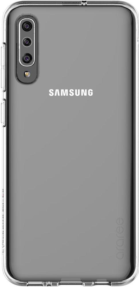 Клип-кейс Araree Samsung Galaxy A50 TPU GP-FPA505K прозрачный клип кейс deppa huawei y5 lite tpu прозрачный