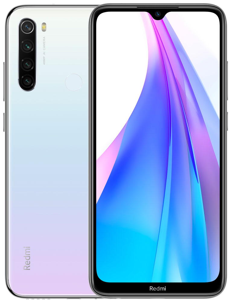 Смартфон Xiaomi Redmi Note 8T 3/32Gb Moonlight White фото
