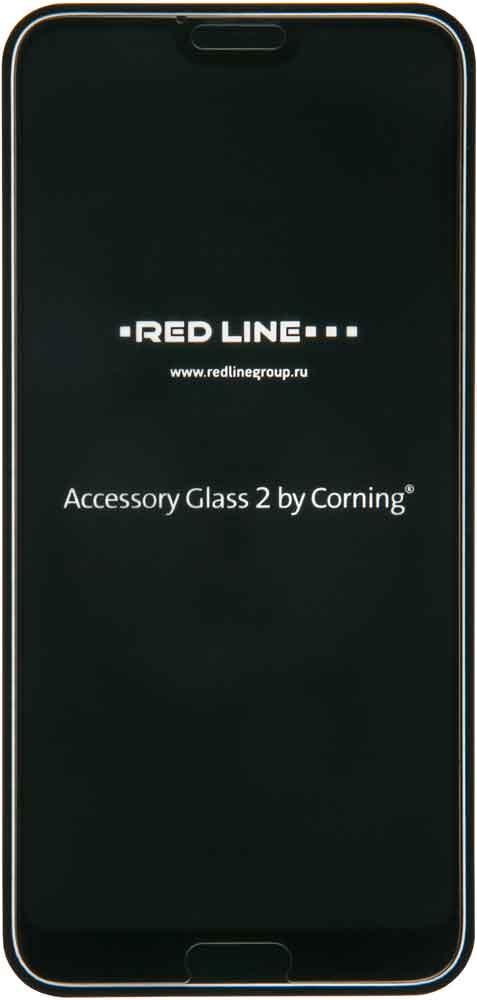 Стекло защитное RedLine Corning для Honor 10 0.2 мм черная рамка фото